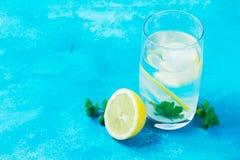Hemlagad drink för lemonad royaltyfri fotografi