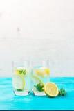 Hemlagad drink för lemonad arkivfoton
