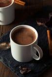 Hemlagad europeisk dricka choklad Arkivbilder
