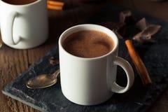 Hemlagad europeisk dricka choklad Royaltyfria Bilder