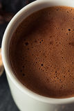 Hemlagad europeisk dricka choklad Arkivfoton