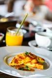 Hemlagad frukost för asiatisk stil Arkivbilder