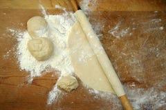 hemlagad görande pasta royaltyfri bild