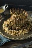 Hemlagad gourmet- krona av lammet royaltyfri bild