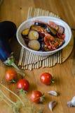 Hemlagad grönsakragulecho Arkivfoto