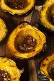 Hemlagad grillad ekollonsquash Arkivfoton