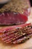 Hemlagad grisköttfransyska Arkivbild