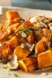 Hemlagad lagad mat sötpotatis royaltyfria bilder