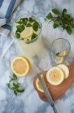 hemlagad lemonade Arkivfoton
