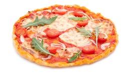 Hemlagad Pizza Arkivbilder