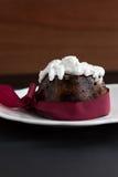 hemlagad pudding för jul Royaltyfria Foton
