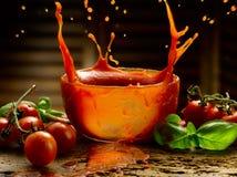 Hemlagad tomatsås Royaltyfri Fotografi