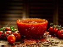 Hemlagad tomatsås Royaltyfri Foto