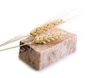 hemlagad tvål för korn arkivbild