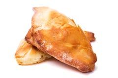 Hemlagade bakelser, puffs med ost Royaltyfri Fotografi