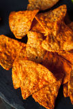 Hemlagade Chili Lime Tortilla Chips Royaltyfri Bild