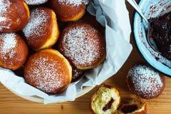 hemlagade donuts Arkivbilder
