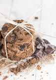 Hemlagade kakor Fotografering för Bildbyråer