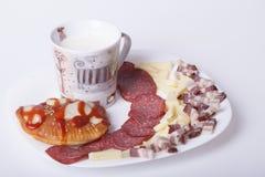 Hemlagade kakor för frukost Arkivbild