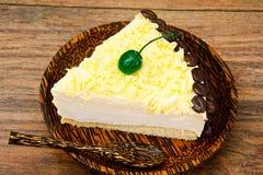 Hemlagade kakor: Vana Tallin Cake på plattan Fotografering för Bildbyråer