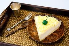 Hemlagade kakor: Vana Tallin Cake på plattan Arkivfoto