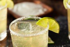 Hemlagade klassiska Margarita Drink Arkivbild