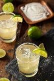 Hemlagade klassiska Margarita Drink Arkivfoton