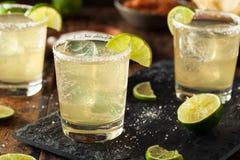 Hemlagade klassiska Margarita Drink Arkivbilder
