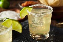 Hemlagade klassiska Margarita Drink Fotografering för Bildbyråer