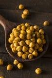Hemlagade kryddiga rimmade bakade kikärtar Arkivfoton