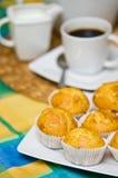Hemlagade muffin Arkivfoto