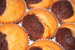 hemlagade muffiner Royaltyfri Bild