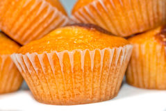 hemlagade muffiner Arkivbilder