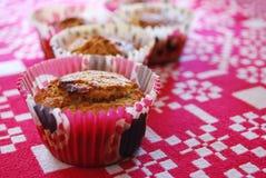hemlagade muffiner arkivfoto