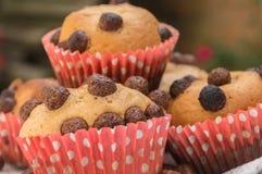 hemlagade muffiner Arkivbild