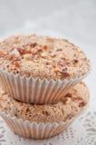 Hemlagade muffiner med mandarins Royaltyfria Bilder