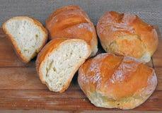 hemlagade rullar för bröd Royaltyfria Foton