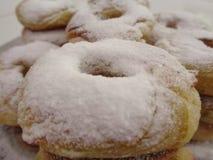 Hemlagade söta donuts royaltyfri bild