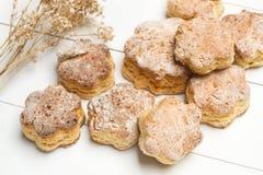 hemlagade scones Royaltyfri Foto