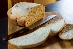 Hemlagat bröd 1 Arkivfoton