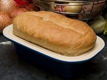 Hemlagat bröd - royaltyfria foton