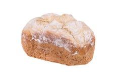 Hemlagat bröd för vitt mjöl som isoleras på vit bakgrund som bakas i brödtillverkare Royaltyfri Fotografi