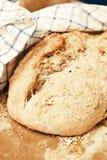 hemlagat bröd Arkivbild