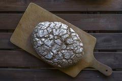 hemlagat bröd Arkivfoto
