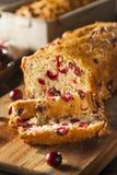 Hemlagat festligt tranbärbröd Royaltyfri Fotografi