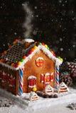 hemlagat hus för pepparkaka Royaltyfri Foto