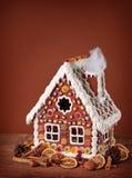 hemlagat hus för pepparkaka Royaltyfria Foton