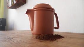 Hemlagat jordbrasilianskt kaffe Royaltyfri Foto