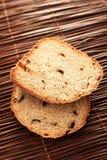 Hemlagat rågbröd med torkade peppar Arkivbild