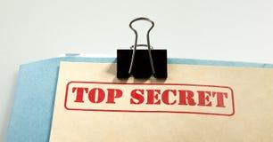 hemlig överkant arkivfoton